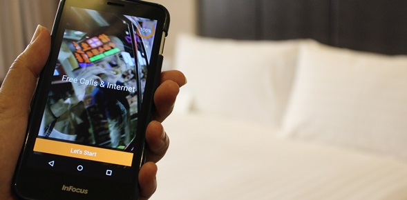 "Dorsett Singapore: Unveils a smartphone named ""handy"" in guestrooms"