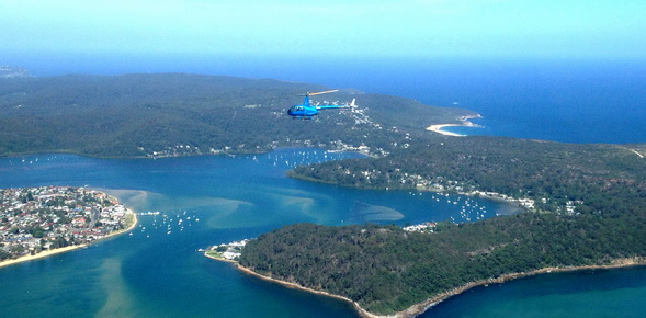 New Helicopter Tours Take Off In Port Stephens