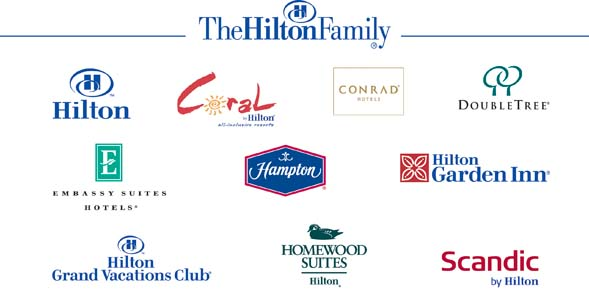 As Fastest Growing Hotel Company In The World Hilton Worldwide Has Properties 90 Countries And Territories Across Six Continents