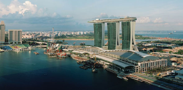 Marina Bay Sands transformed Singapore's skyline and its tourism landscape