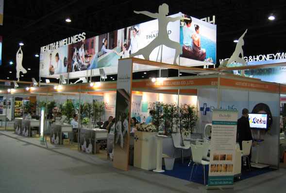 Health & Medical Tourism Stand at TTM+