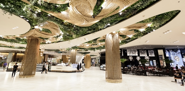 Siam paragon presents the gourmet garden the latest world class dining heaven amid the heart - Lay outs garden terrace ...